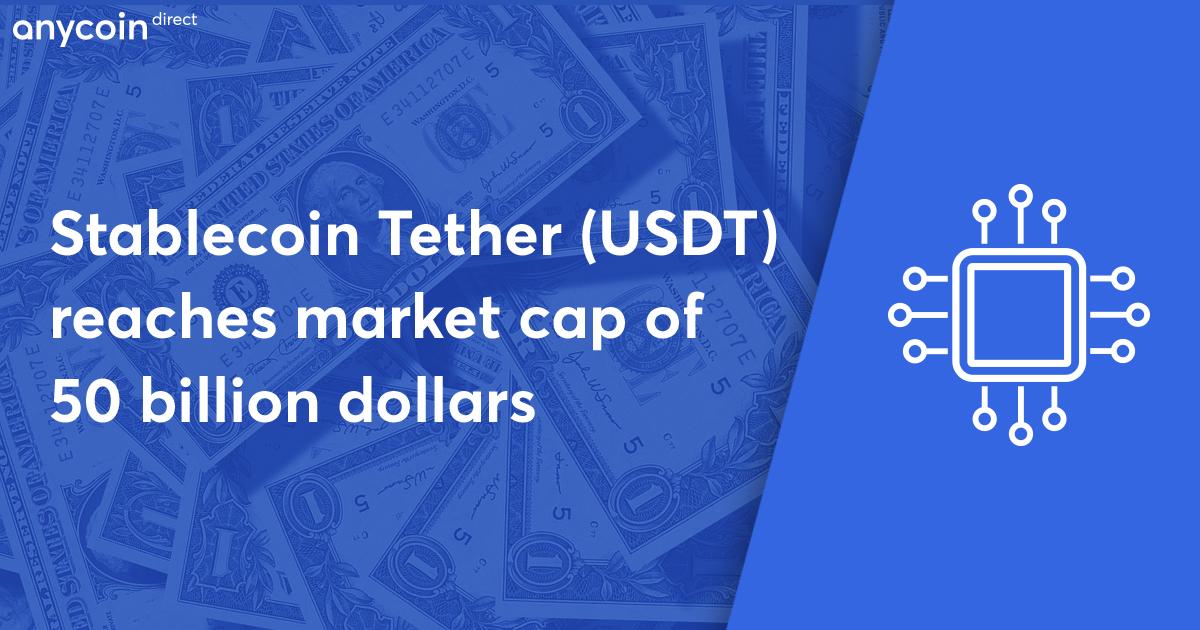 tether 50 billion market cap