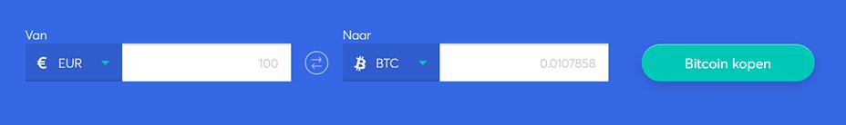 Exchange bar om bitcoin te kopen