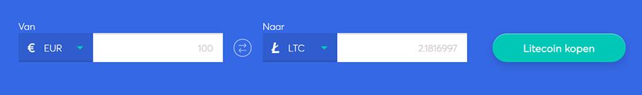 Exchange bar om litecoin te kopen