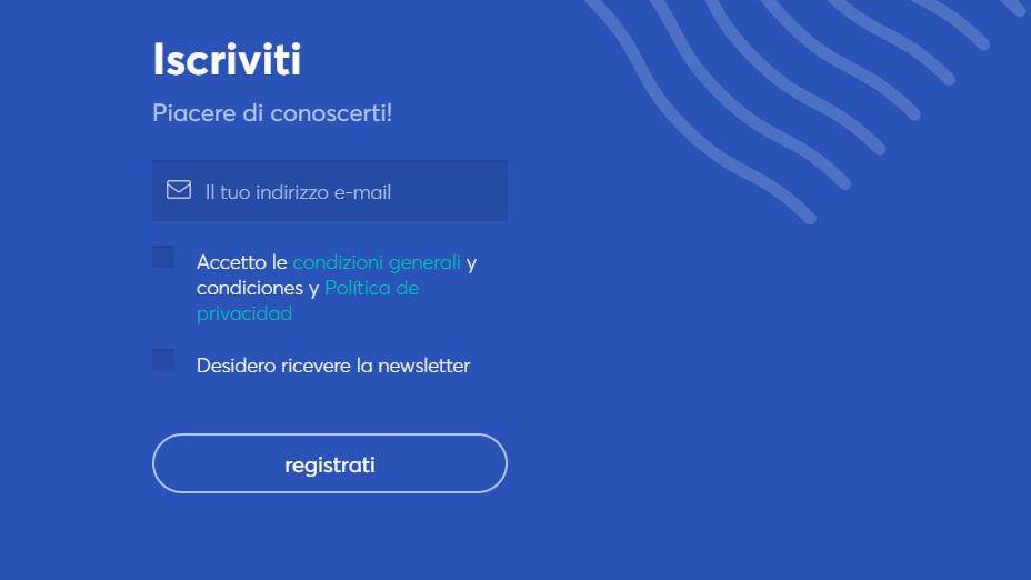 registrati su anycoin direttamente per iniziare ad acquistare, commerciare o vendere ethereum