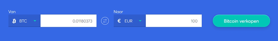 Exchange bar om bitcoin te verkopen