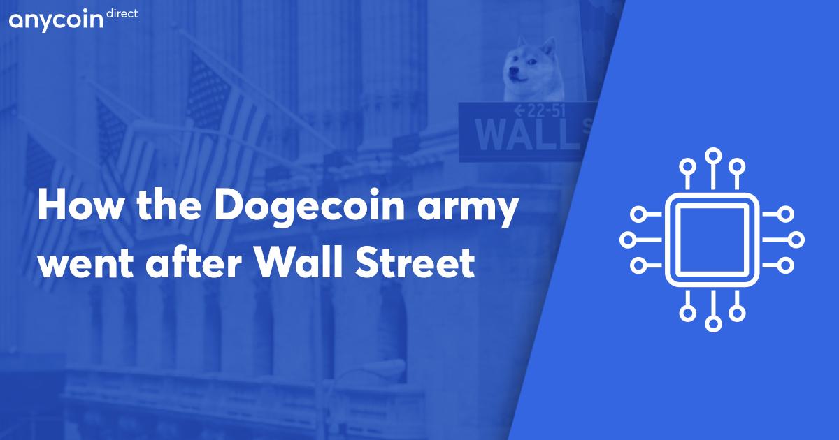 wall street bets dogecoin