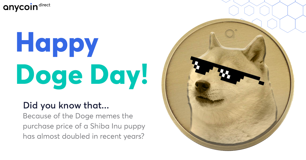 Doge Day From Meme To Musk Anycoin Direct
